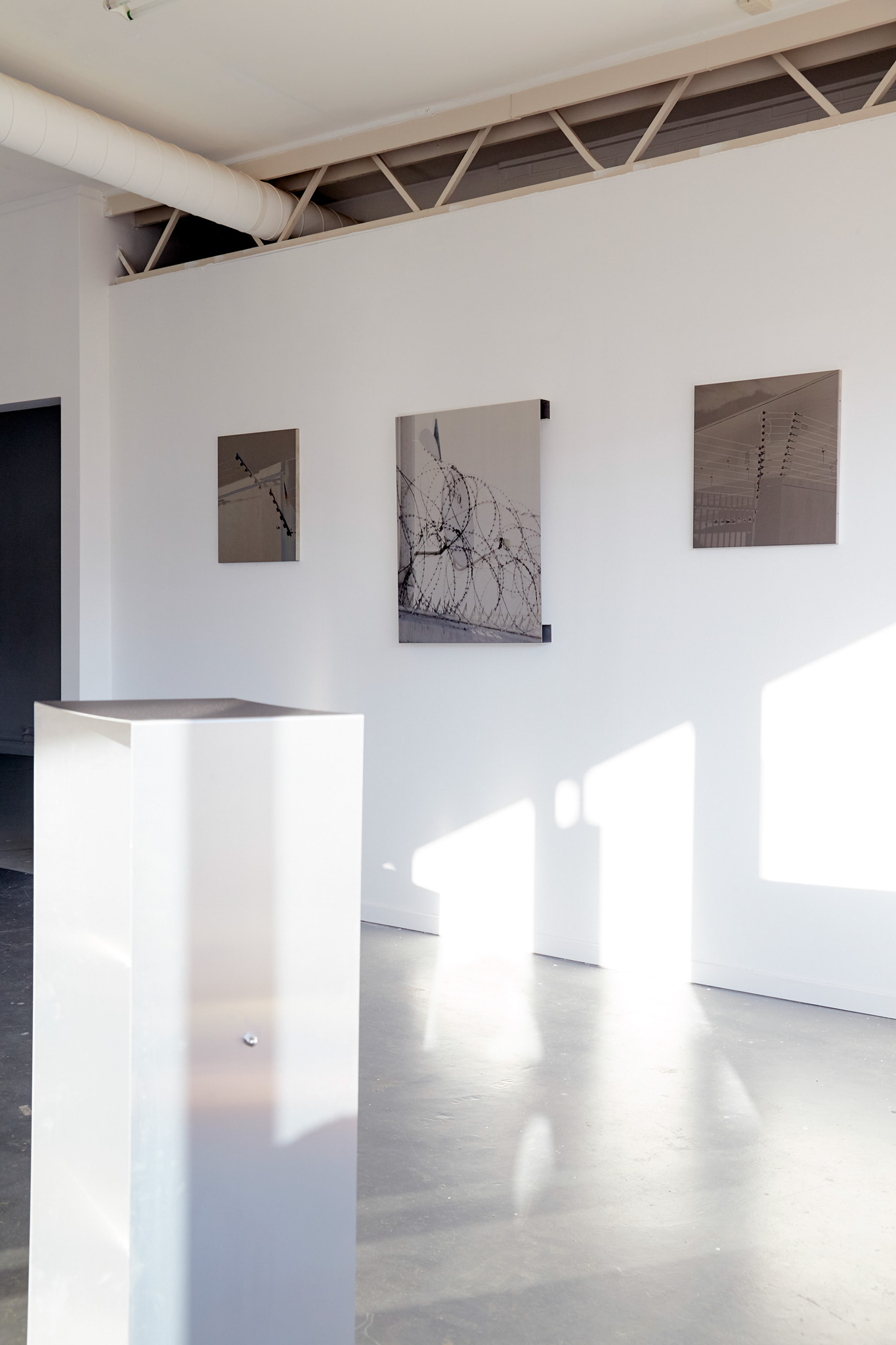 <p><i>FOLD</i> - Gallery View, 2020. Tributary Projects Gallery, Canberra, Variable Sizes </p>