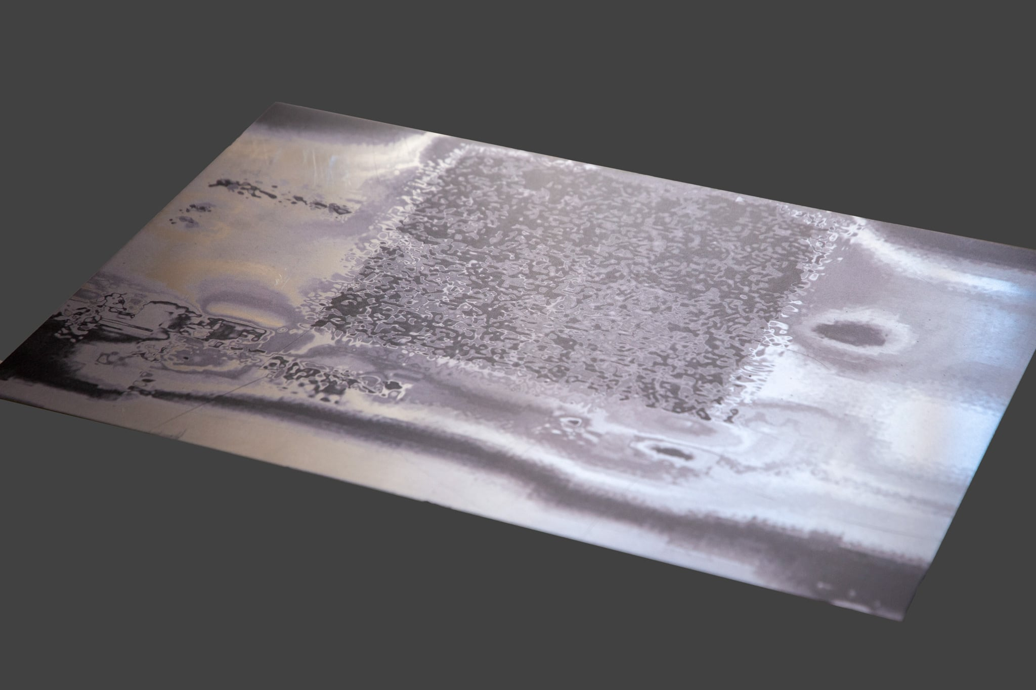 <p><i>Multispec</i> - Plated, 2020. UV Pigment Prints on Aluminum Plate, 350 x 470mm. </p>